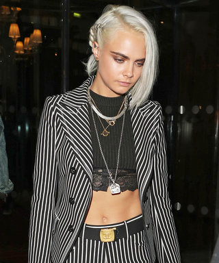 Cara Delevingne Just Went Platinum Blonde in Paris—and We're Obsessed