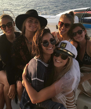 Nina Dobrev Is First Mate for Julianne Hough's Bikini-Clad Bachelorette