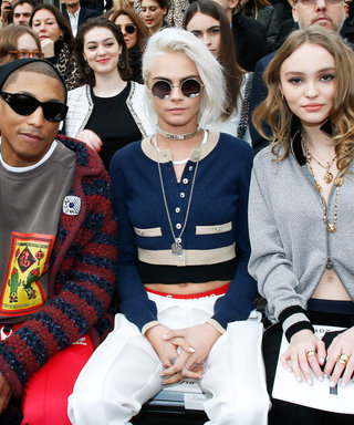 Stylish Celebrities Sitting Front Row at Paris Fashion Week