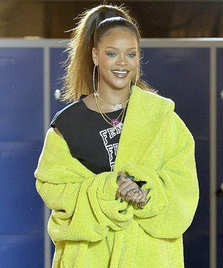 Rihanna Schools Us in Sexy-Sporty Styling at Paris Fashion Week