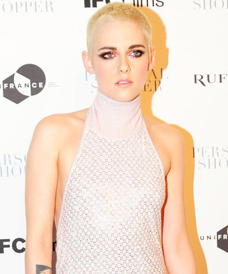 Kristen Stewart Shows You the Best Color to Wear with Platinum Blonde Hair