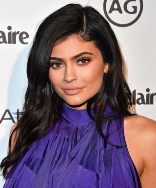 Kylie Jenner Emerges from Flashiest Car Ever
