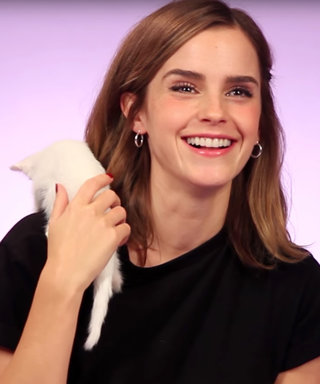 Emma Watson Was Given Kittens During an Interview and She Can't Handle It