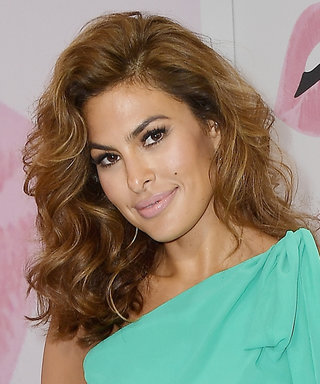 Eva Mendes Went Grecian Goddess for a Rare Public Event