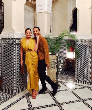 John Legend, Chrissy Teigen, and Luna Take Morocco!