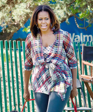 Michelle Obama Welcomes the First Day of Spring with Bo and Sunny