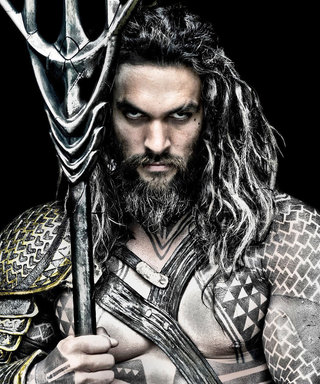 Jason Momoa Goes Shirtless for Justice League—and We're Definitely Not Complaining