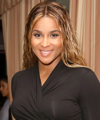 Ciara Flaunts Her Baby Bump in Skin-Tight LBD and Towering Heels