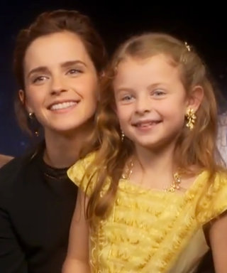 Emma Watson and Dan Stevens Meet Adorable Kid Versions of Belle and Beast
