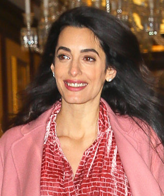 On Wednesdays, Amal Clooney Wears Pink—Shop the Look (for Less)