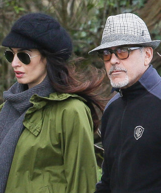 Amal And George Clooney Dress Down For A Romantic Stroll
