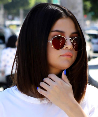 Selena Gomez Channels J.Lo with Her Pin-Straight Lob