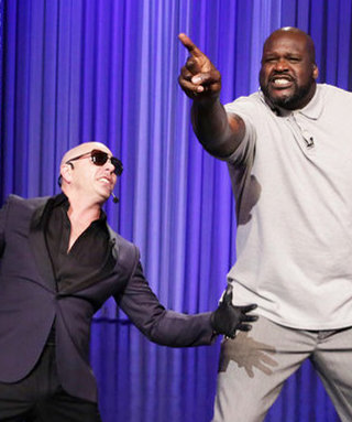 Shaq's Lip Sync Battle Against Jimmy Fallon Launches an Ingenious Tradition