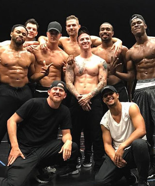 Channing Tatum Threw a Very Shirtless BBQ for the Magic Mike Live Dancers
