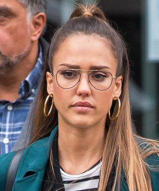 We're All Over Jessica Alba's Geek Chic Street Style