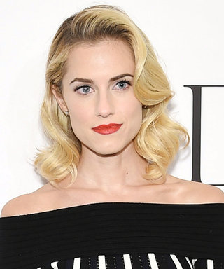 Allison Williams's Sweater and Skirt Combo Is a Must-See