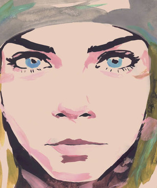 Chanel Shows Us What Cara Delevingne Looks Like as a Cartoon