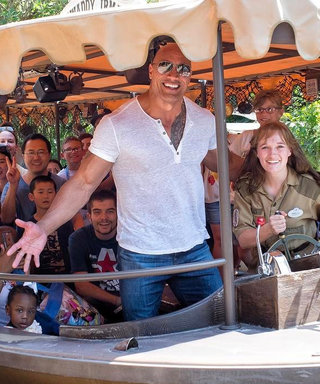 """""""The Rock"""" Gave Disney Visitors the Surprise of Their Lives"""