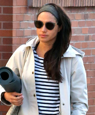 Meghan Markle Channels Kate Middleton While Heading to Yoga