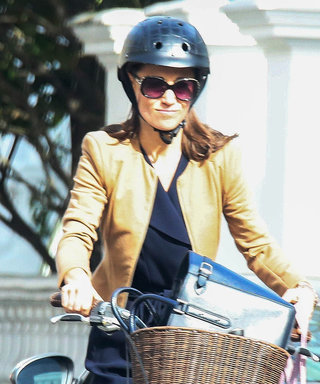 Bride-to-Be Pippa Middleton Goes for a Bike Ride Ahead of Her Big Day