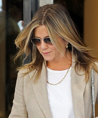 Jennifer Aniston & Justin Theroux's Coordinating Couple Style Won't Quit