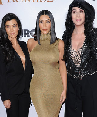 Cher Was the Third Kardashian Sister at the Promise Premiere