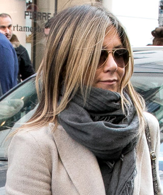 Jennifer Aniston and Justin Theroux Master Casual Chic Style in Paris