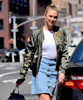 Karlie Kloss's $30 Skirt Is All You Need to Upgrade Your Summer Look