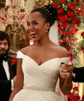 Olivia Pope Walks Down the Aisle in a $4,500 Gown
