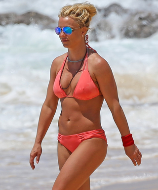 Britney Spears Lives For a Pink Bikini