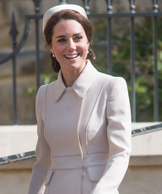 Kate Middleton Is a Vision in Easter White