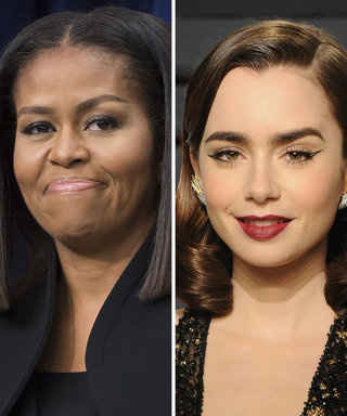 Here's Why Michelle Obama Sent Lily Collins This Thank-You Note