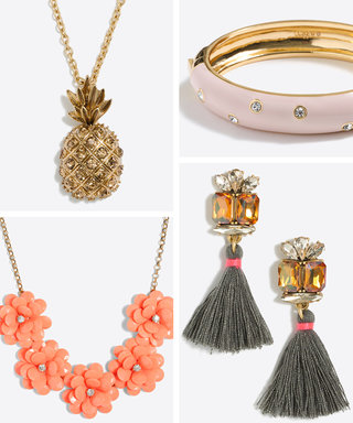 J.Crew Factory Has Pretty Spring Accessories, and They Are 50% Off