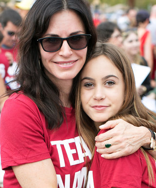 Courteney Cox's Daughter Loves Experimenting with Makeup