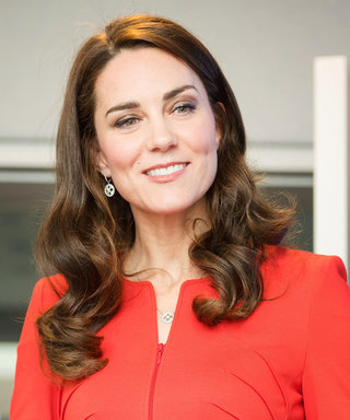 Kate Middleton Sizzles in Red Armani for Official London Engagement