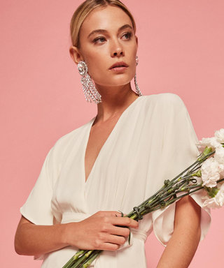 Reformation's Back at It Again with Cool-Girl Bridal Dresses