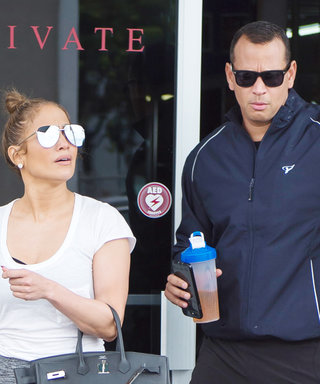Jennifer Lopez and Alex Rodriguez Get Their Sweat on in Miami