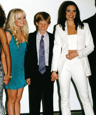 Aw, Prince Harry's Blushing During TBT First Meeting with Spice Girls