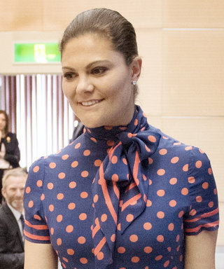 Crown Princess Victoria Wears Queen Silvia's Hand-Me-Down from the '80s