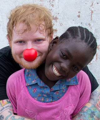 Watch Ed Sheeran's Touching Trip to Liberia in Support of Red Nose Day