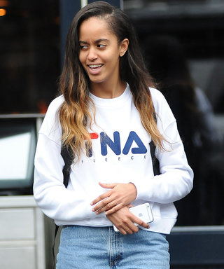 Malia Obama Loves Her Mom Jeans