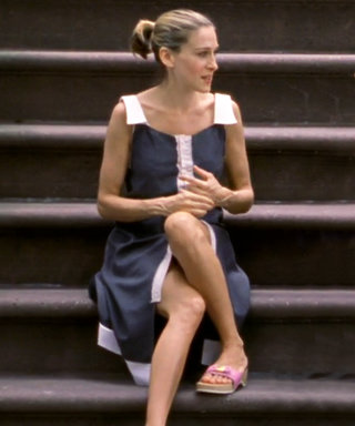 Channel Your Inner Carrie Bradshaw with This Throwback Sandal