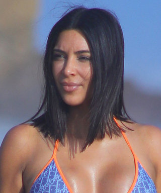 Kim Kardashian West's Curves Strike Again in Another Vintage Dior Bikini
