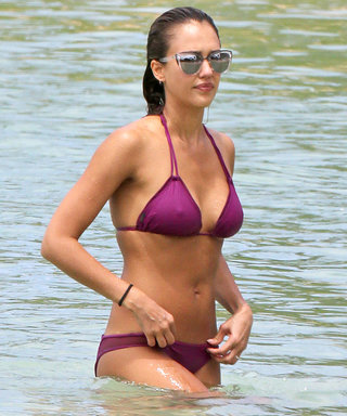 Jessica Alba Is 36! See the Mom-of-Two's Hottest Bikini Moments