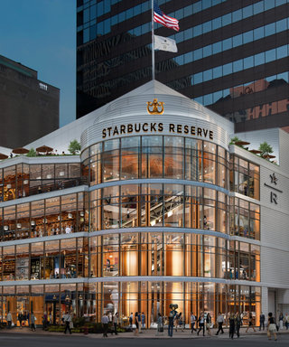 Coffee Lovers Will Flip Over Starbucks's Lavish New 4-Story Location