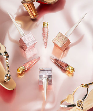 Christian Louboutin Is Dropping the Prettiest Nude Lipstick and Nail Polish