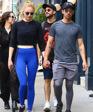 Sophie Turner and Joe Jonas Flaunt Their Love and Gym Clothes