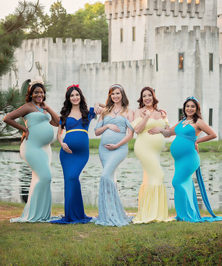 This Disney Princess Maternity Shoot Is Positively Enchanting