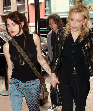 Courtney Love & Daughter Frances Prove Rockstar Style Runs in the Family