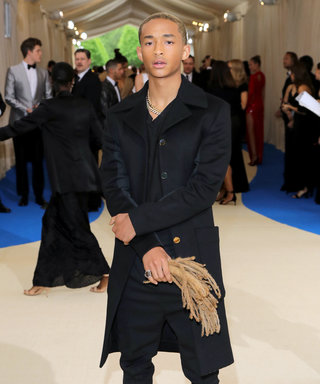Yes, Jaden Smith Carried His Own Dreadlocks at The Met Gala